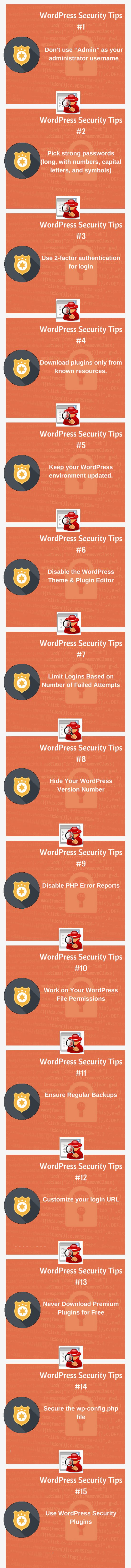 Top 15 WordPress Website Security Tips - Step by Step July 2018