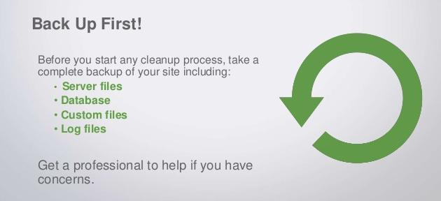 remove google blacklisting warnings wordpress site
