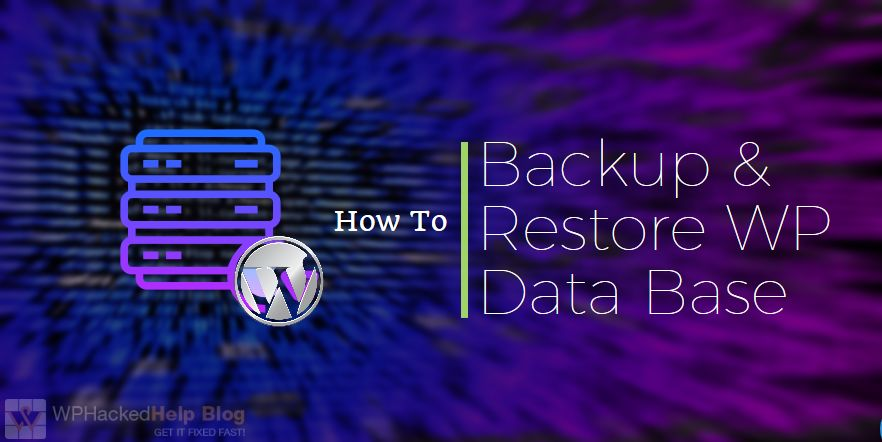 How to Backup WordPress Database Manually + Best Database Backup Plugins