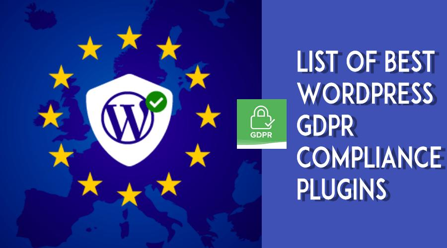 wordpress gdpr compliance plugin