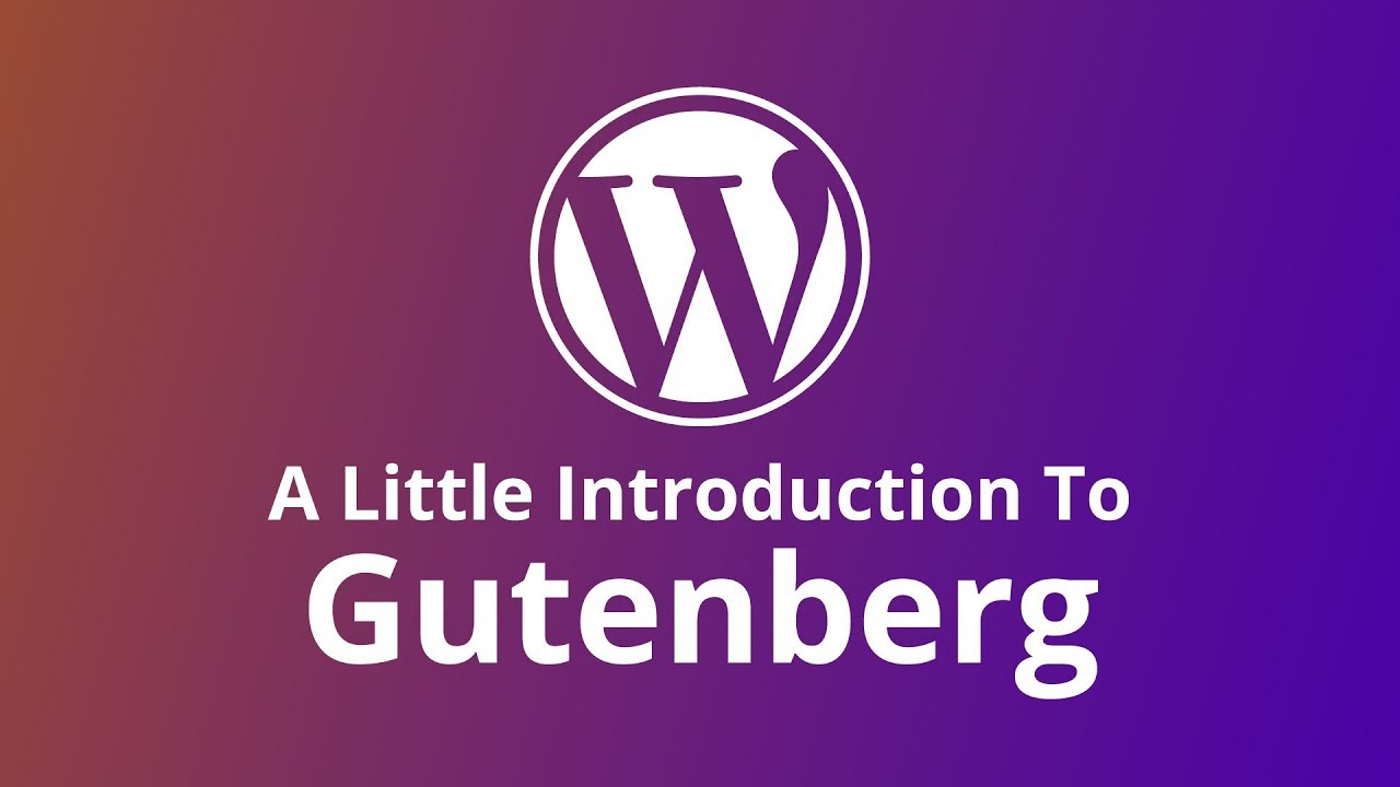 wordpress gutenberg project