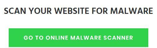 Free Online WordPress Malware Scanner