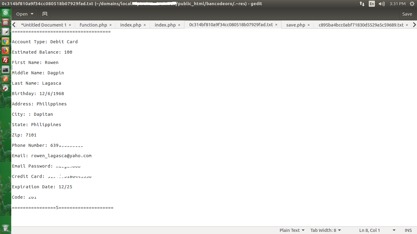Screenshot - Banco De Oro Hack