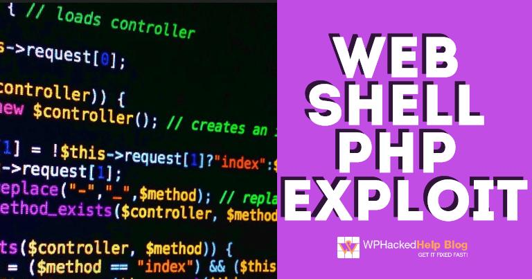 Web Shell PHP Exploit WordPress