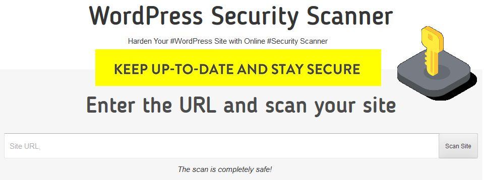 WordPress hacked scanner online check