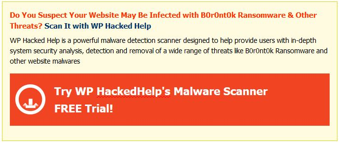 B0r0nt0k Ransomware - What is it & How To Remove It?