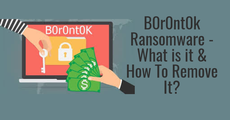 B0r0nt0k Ransomware – What is it & How To Remove It?