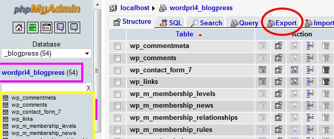 Backup-Databases-Tables