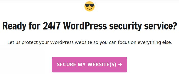 Best WordPress Security Service