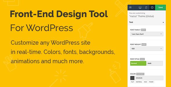 Yellow Pencil WordPress Plugin - Visual CSS Style Editor