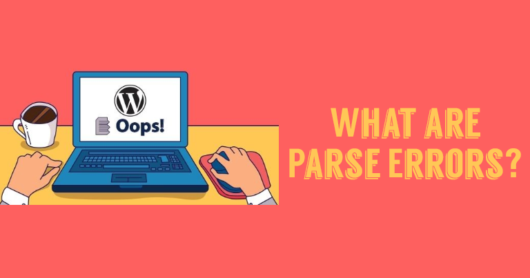 parse error syntax error in WordPress