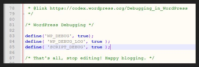 wordpress_debug_options_wp-config