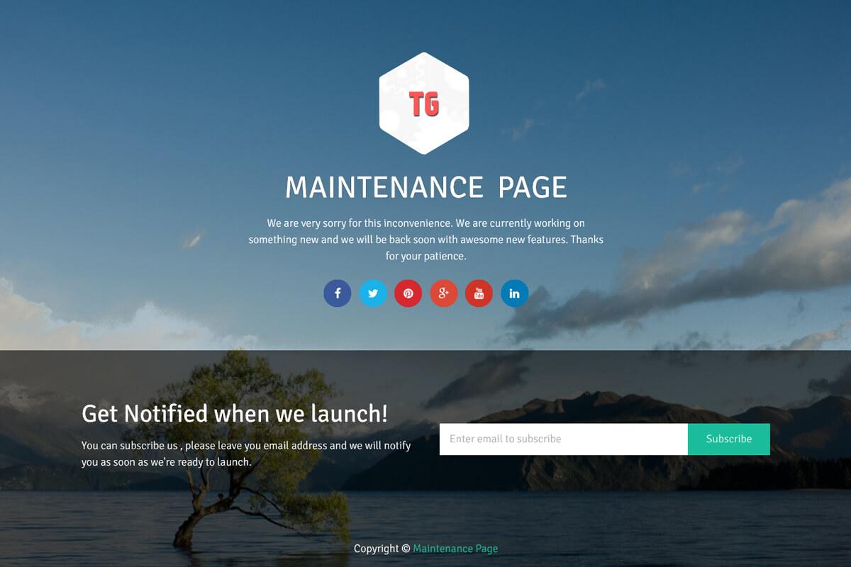 maintenance-page-wordpress