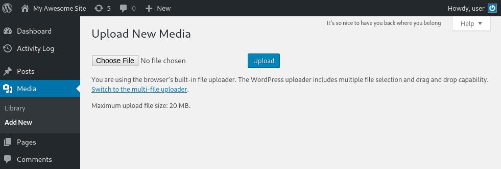 disable browser-uploader