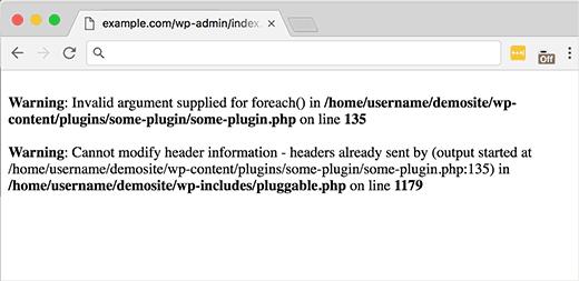 pluggable.php error on line in wordpress