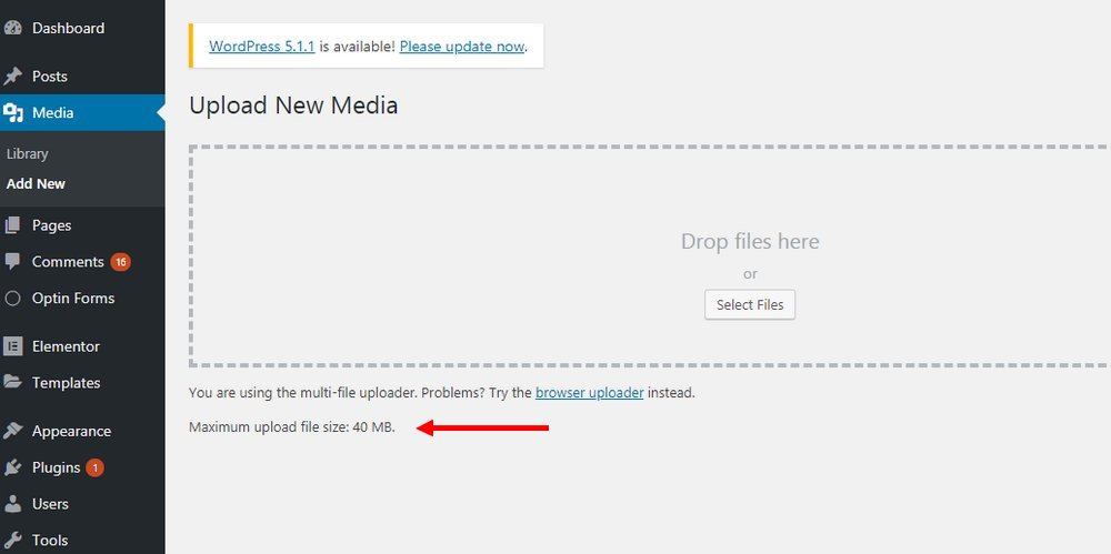 The Link You Followed Has Expired' wordpress Error